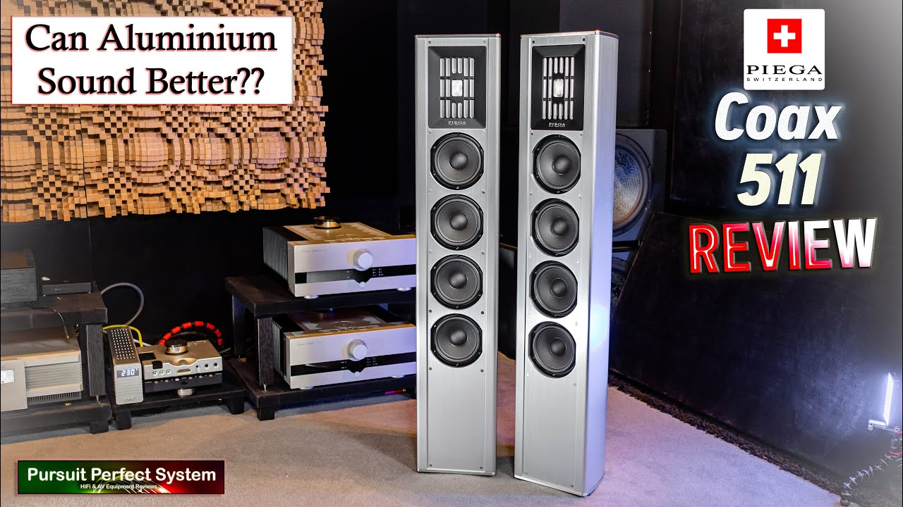 Piega Coax 511 HiFi Speakers REVIEW Can Aluminium Sound Better