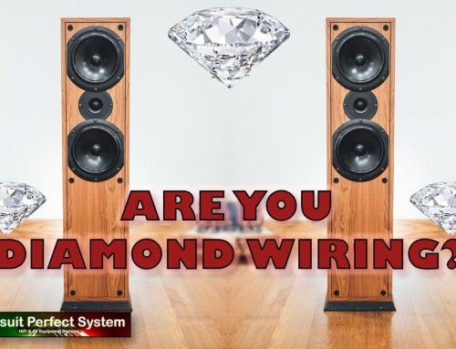 Are you Diamond Wiring your speakers??