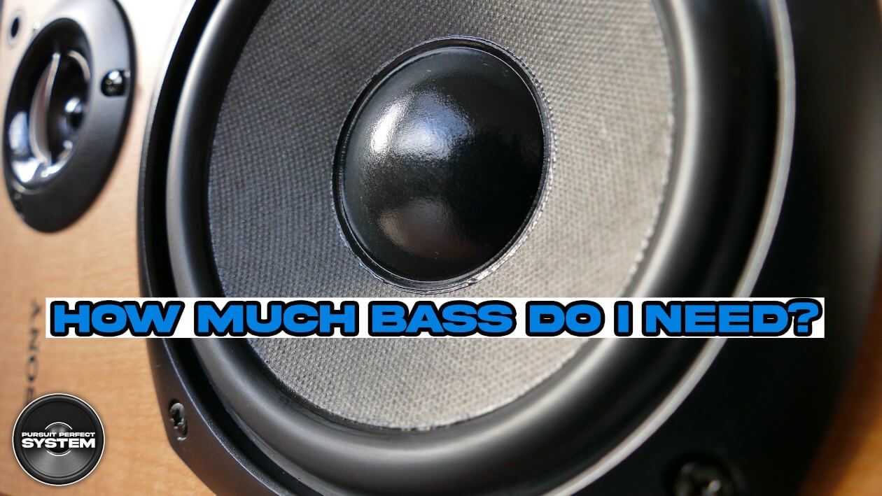 How much bass do I need website