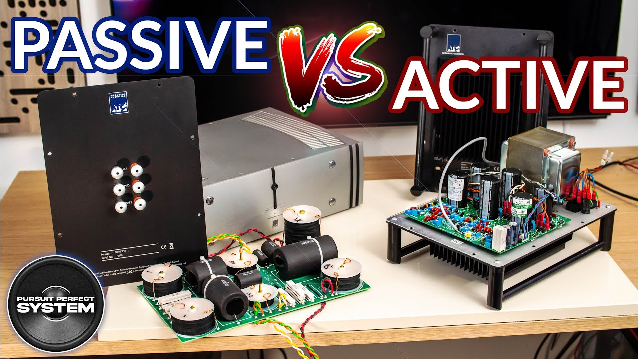 Passive vs Active Speakers What is the BEST ATC SCM50 ??