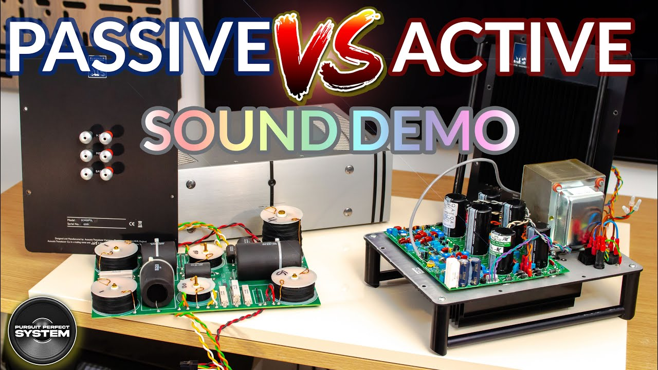 Passive vs Active Speakers What is the BEST ATC SCM50 SOUND DEMO