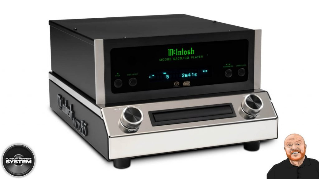 Mcintosh MCD85 hifi cd sacd player 1