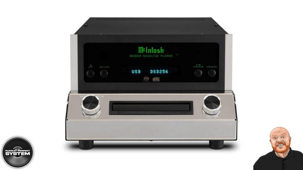 Mcintosh MCD85 hifi cd sacd player 2