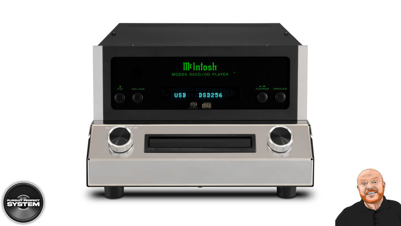 Mcintosh MCD85 hifi cd sacd player 2