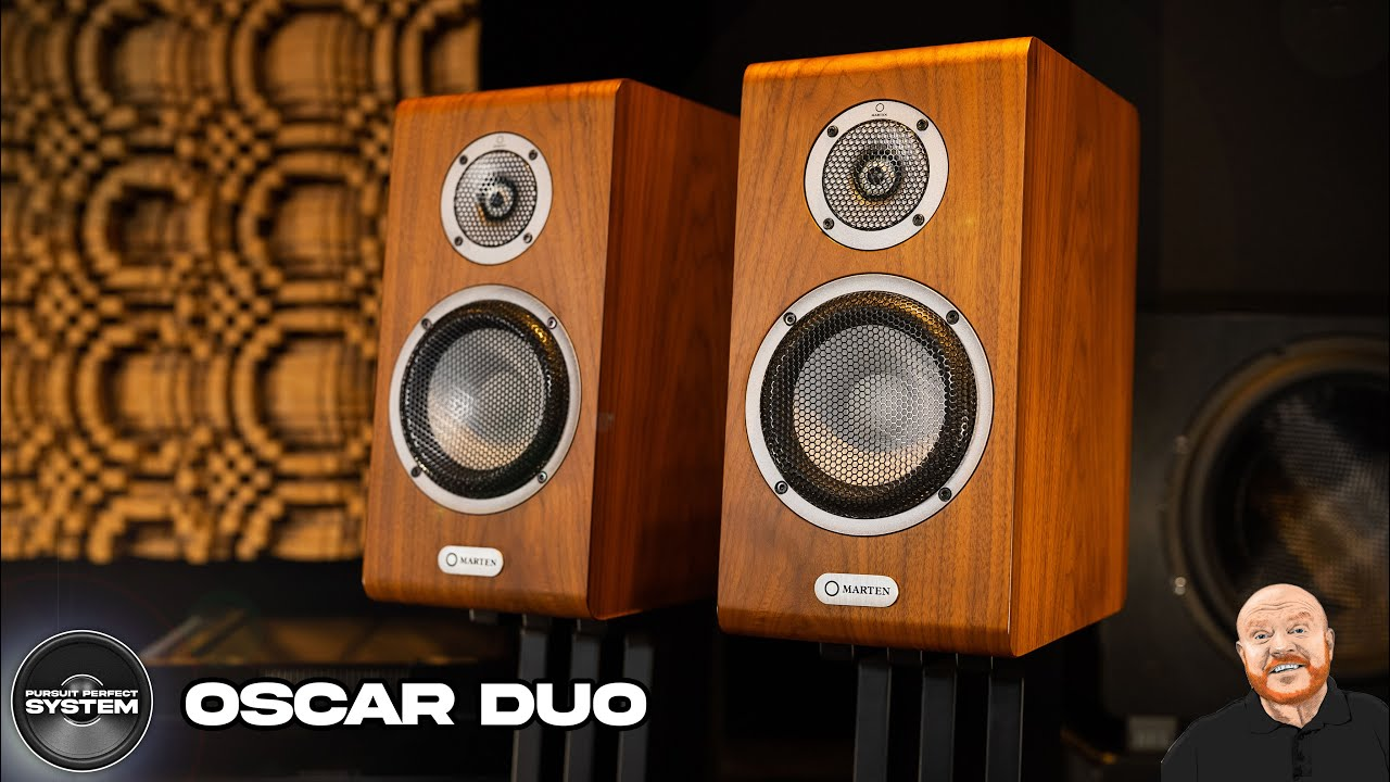 marten oscar duo hifi speakers review video website