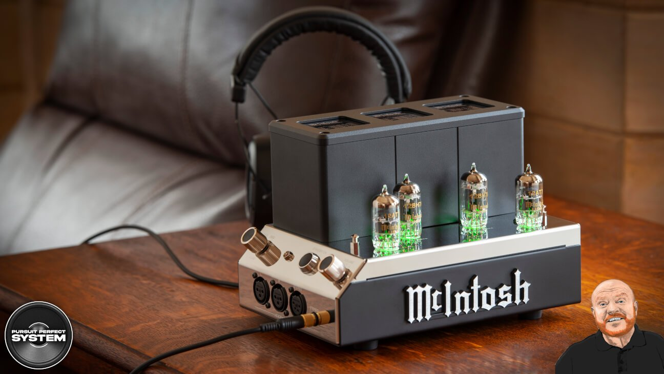 mcintosh valve MHA200 headphone amplifier
