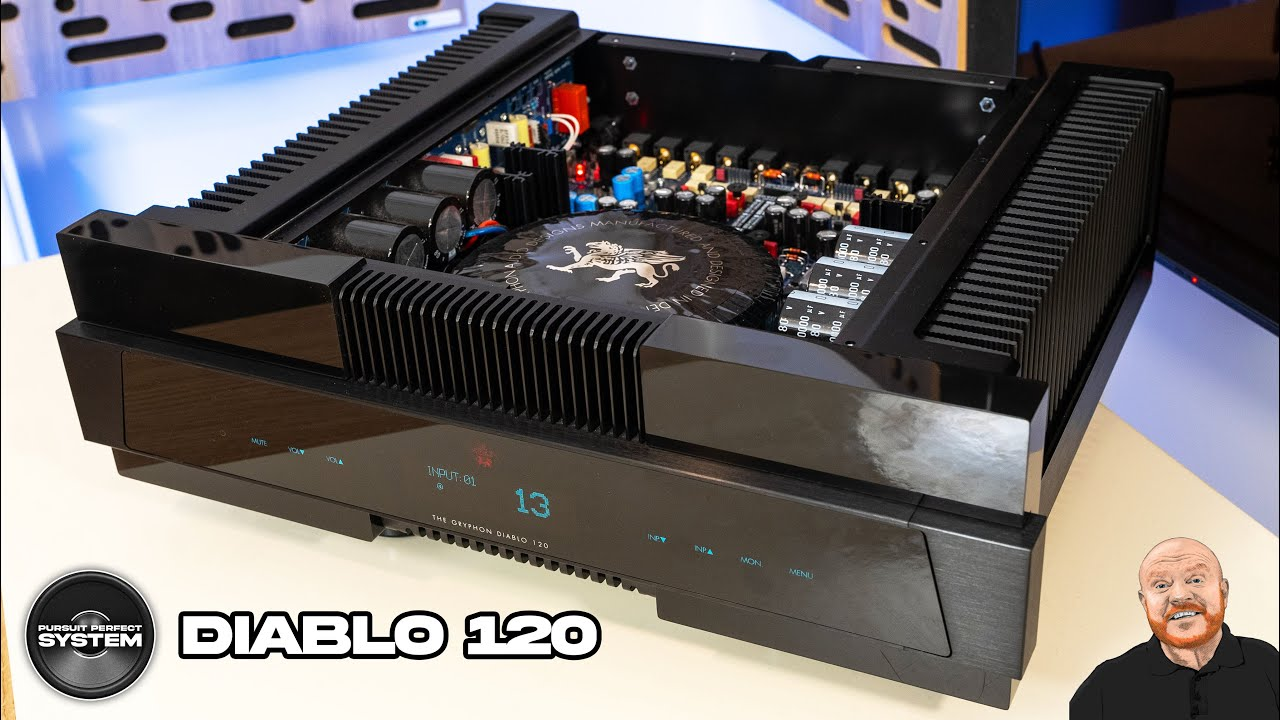 Gryphon Diablo 120 hifi integrated amplifier Review website