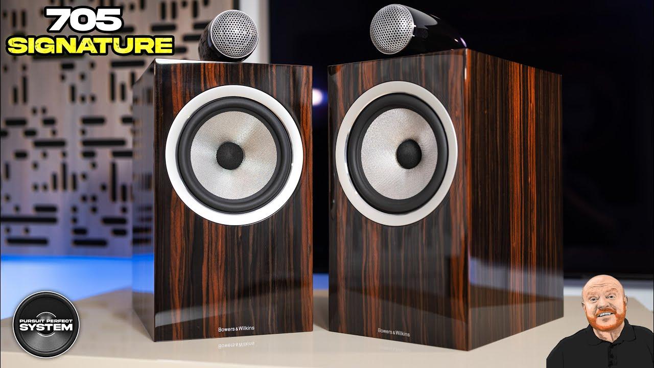 bowers & wilkins 705 signature speakers video review website