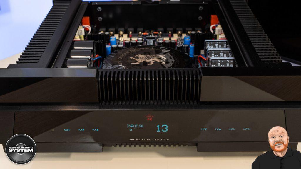 Gryphon Diablo 120 hifi integrated amplifier Review website 2
