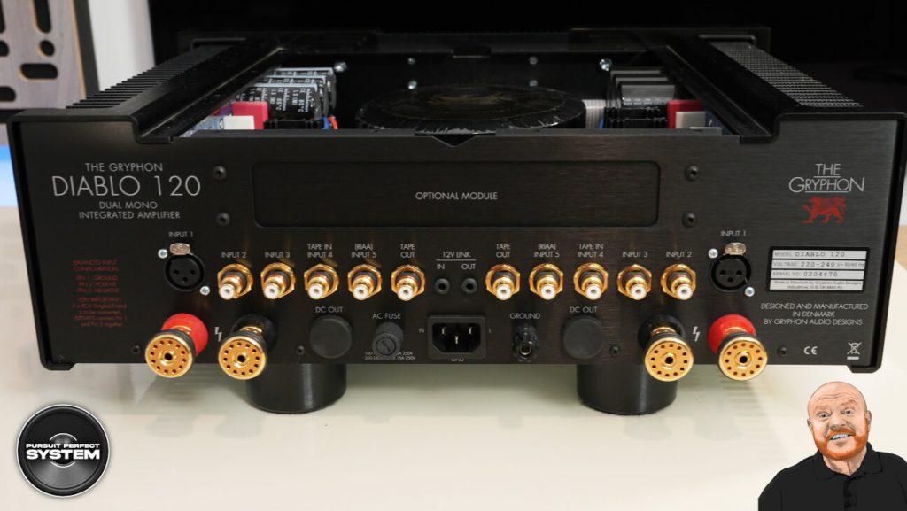 Gryphon Diablo 120 hifi integrated amplifier Review website 3