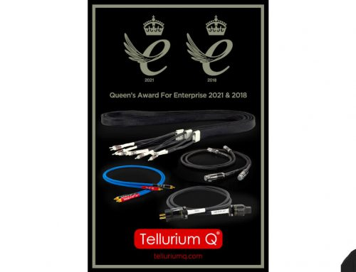 Tellurium Q has been honoured with the Queen's Award for Enterprise International Trade