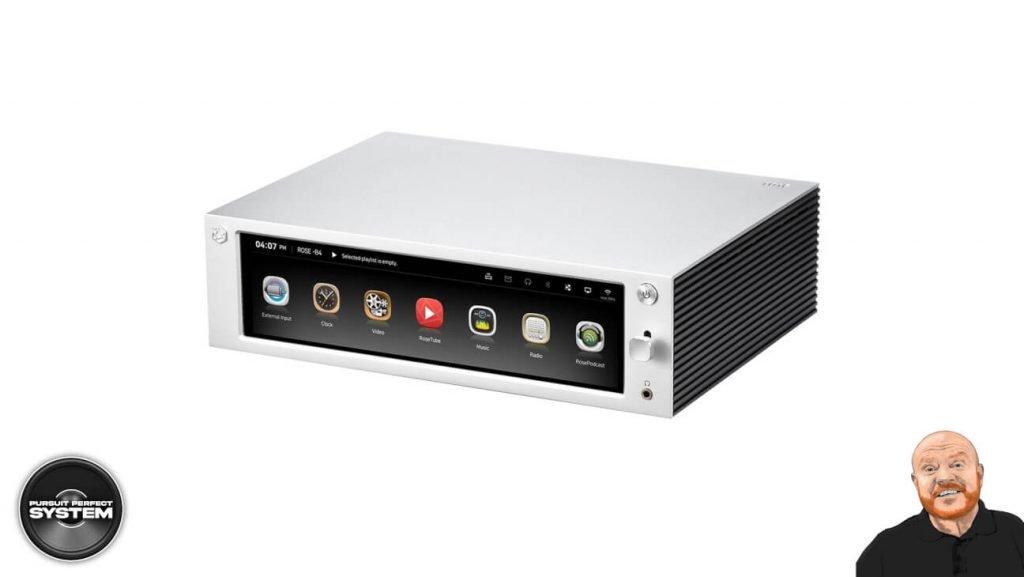 henley audio hifi rose music streamer RS201-Silver