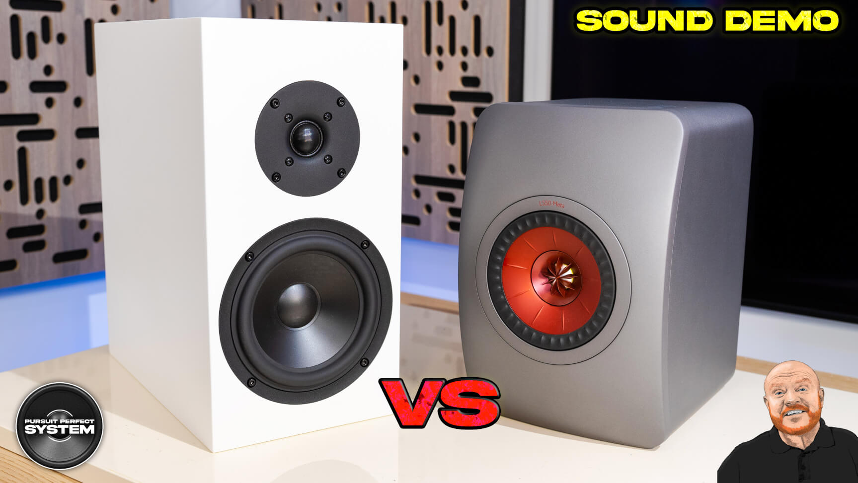 kef ls50 meta vs buchardt s300 mk2 se speakers sound demo website