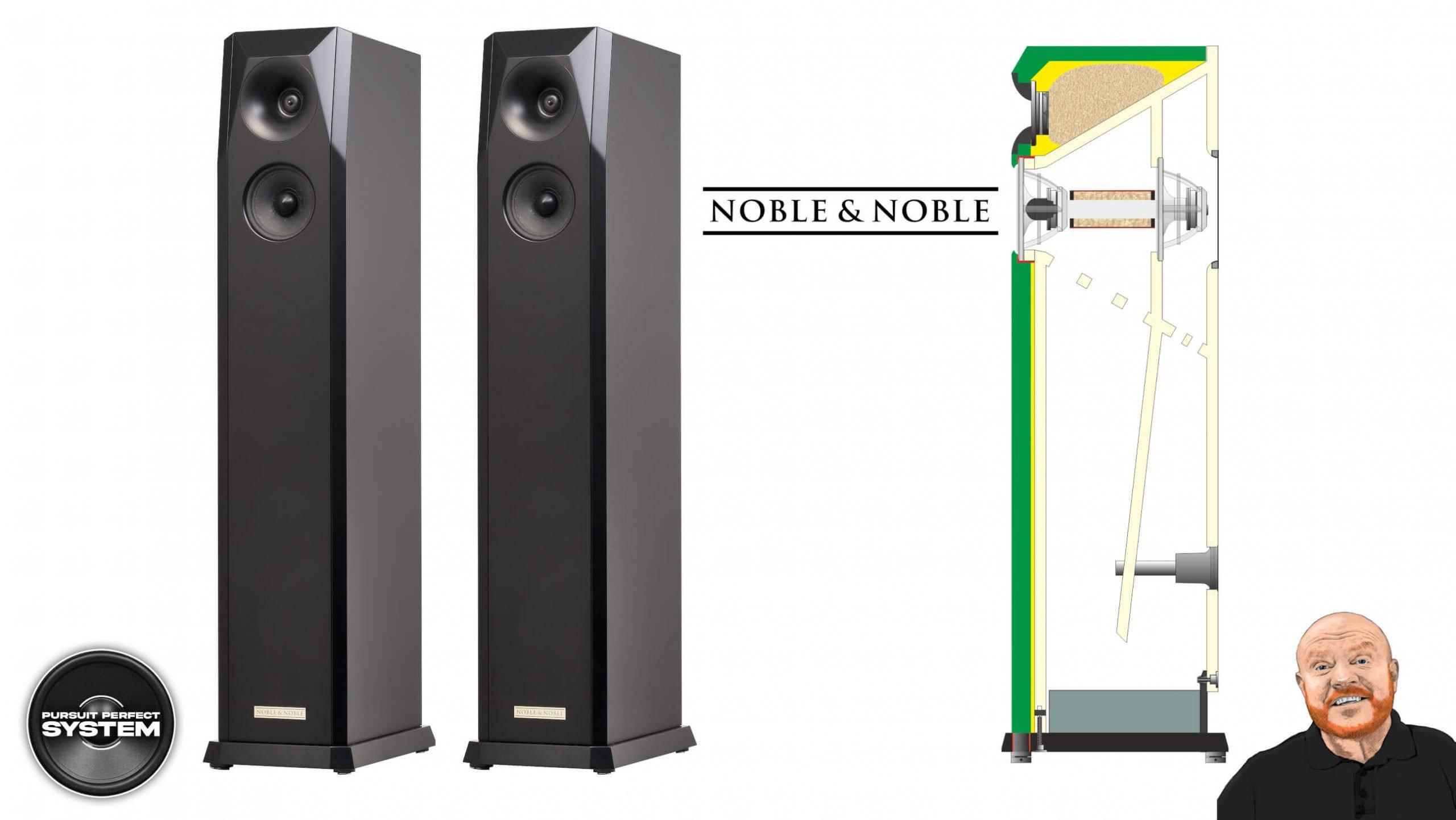 noble and noble Nobilis Sonum 98 hifi speaker worlds first 7 sided speaker website 2