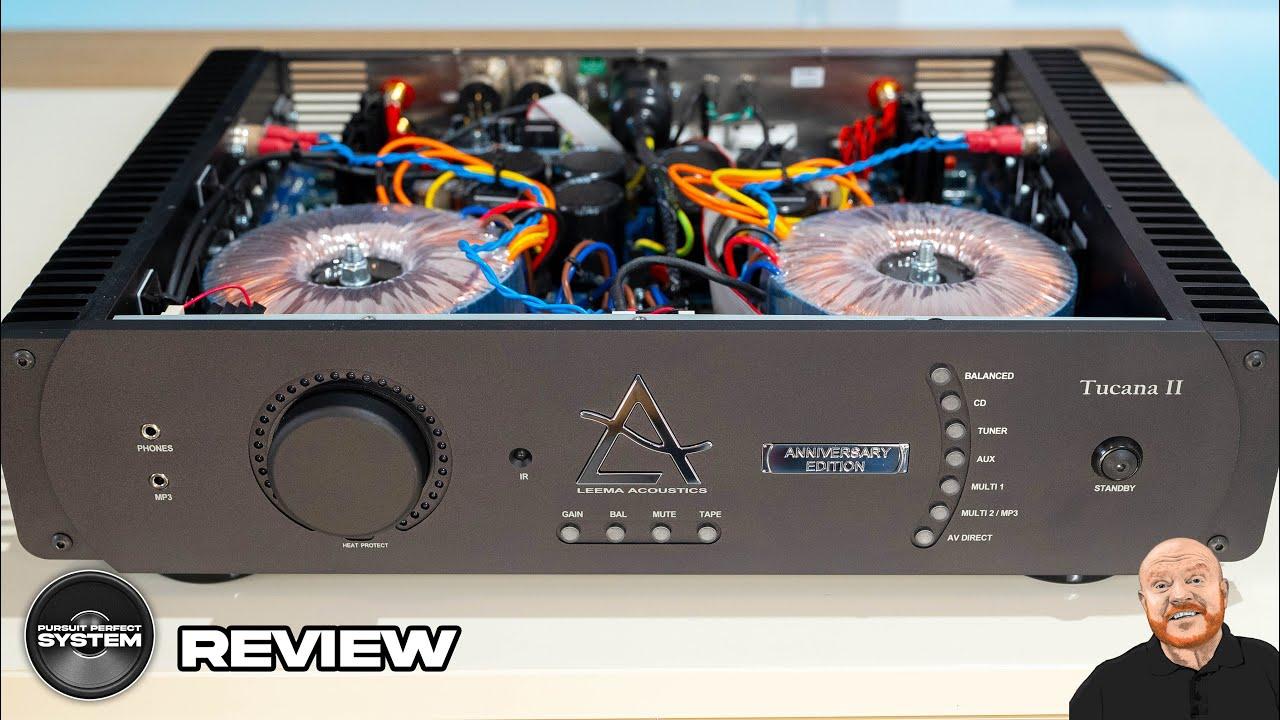 Leema Acoustics Tucana II Anniversary Amplifier Review website