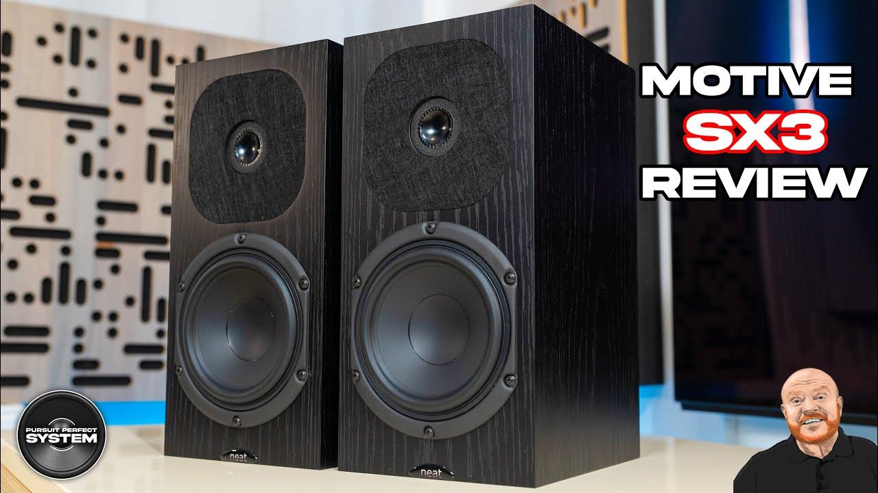 Neat Acoustics Motive SX3 HiFi Speakers Video Review website