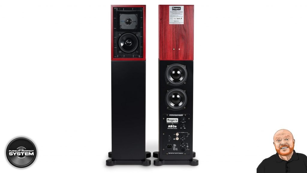 Rogers NEW Active Bass for LS3 5A AB3a subwoofer system website 1