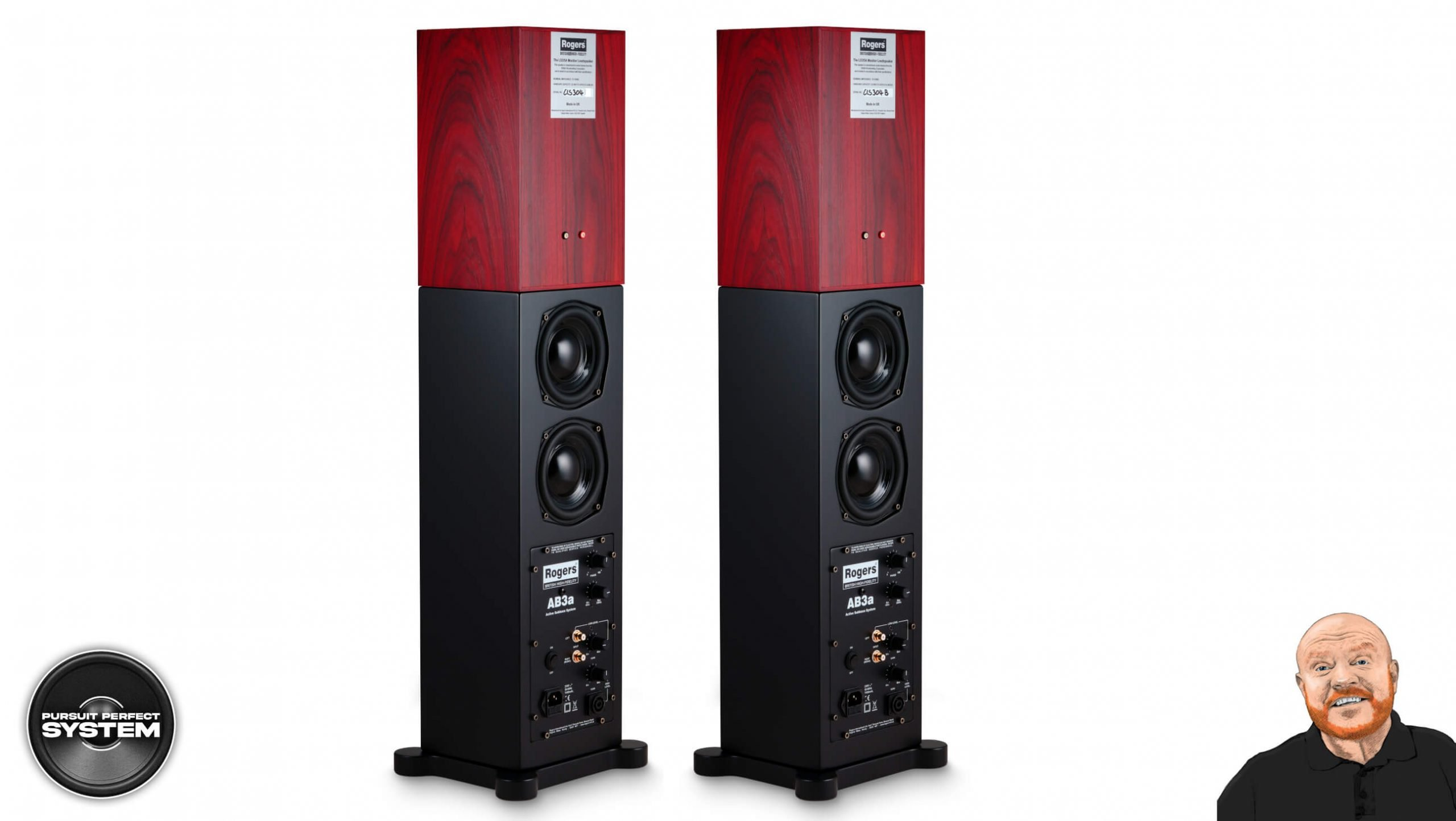 Rogers NEW Active Bass for LS3 5A AB3a subwoofer system website 2