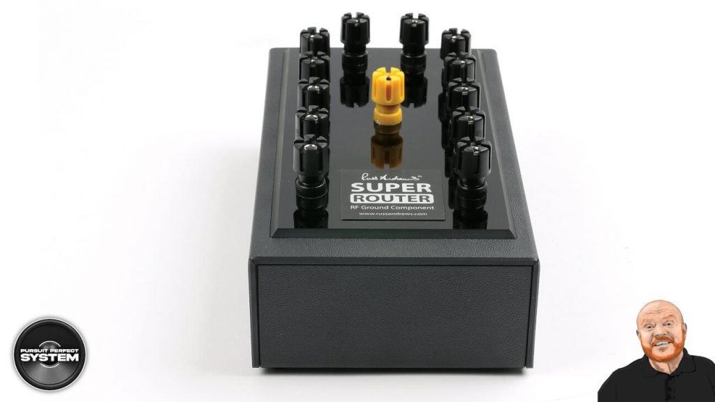 Russ andrews SuperRouter audio grounding system hifi website 3