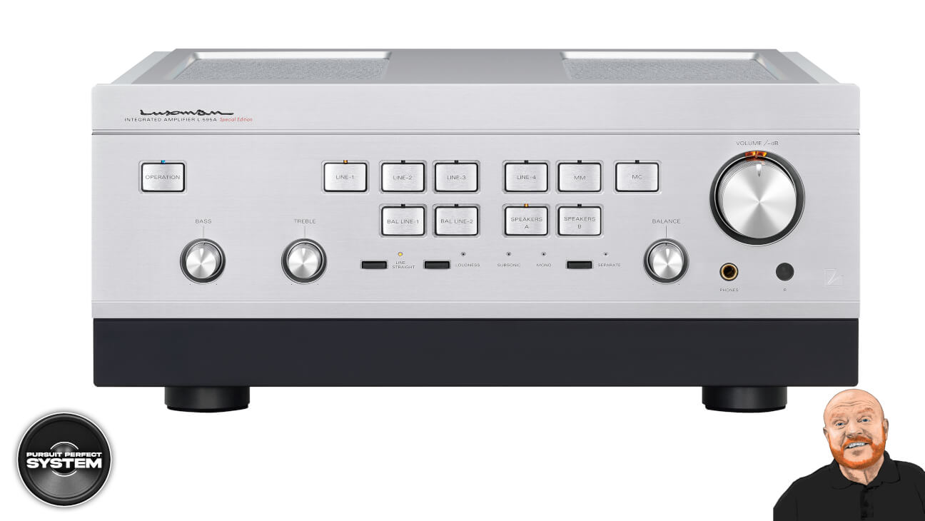 luxman l595A se special edition class integrated amplifier website 1