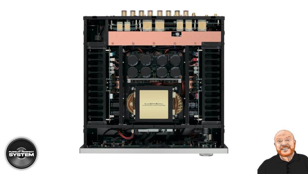 luxman l595A se special edition class integrated amplifier website 2