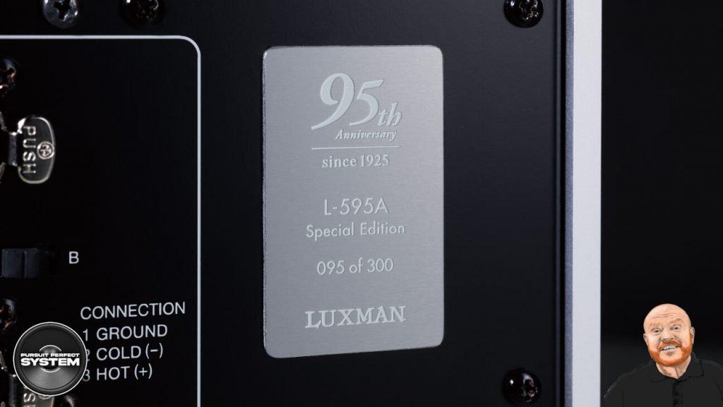 luxman l595A se special edition class integrated amplifier website 4