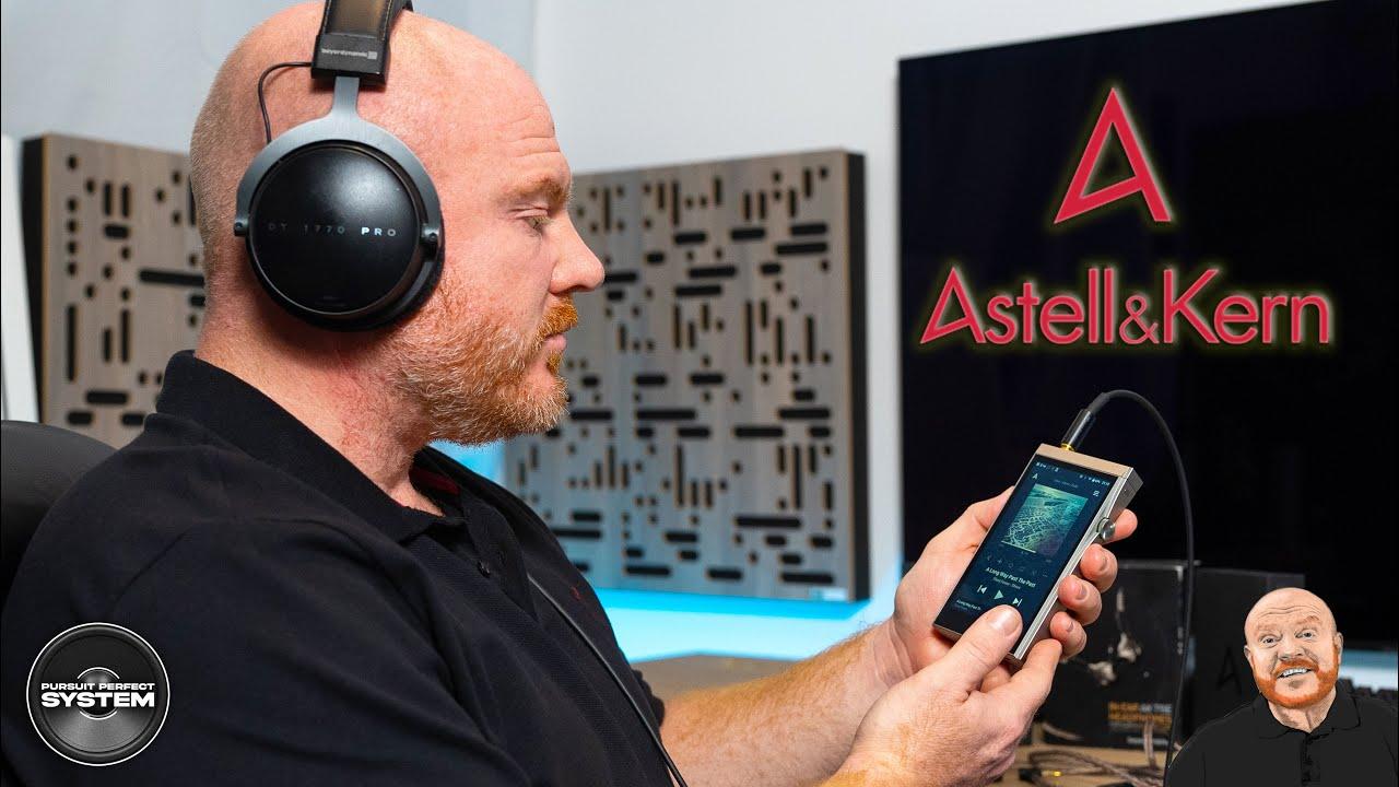 Astell&Kern se180 digital audio player streamer headphone amplifier website review