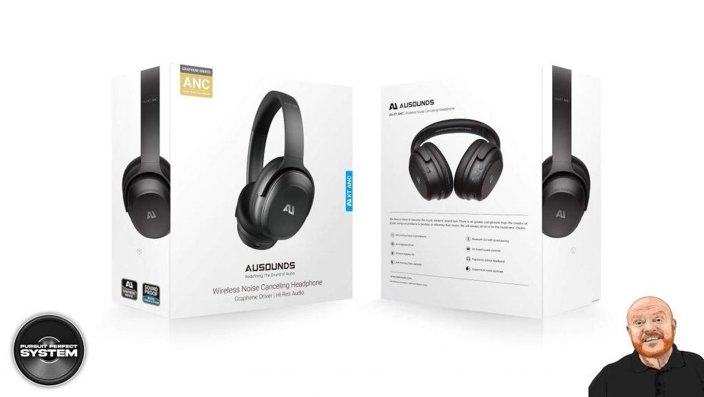 Au Sounds AU-XT ANC noise cancelling headphones website 2