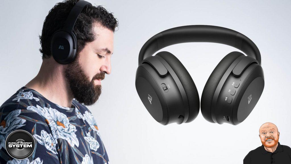 Au Sounds AU-XT ANC noise cancelling headphones website 4