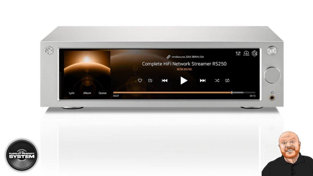 Hifi rose RS250 hifi music streamer website 3