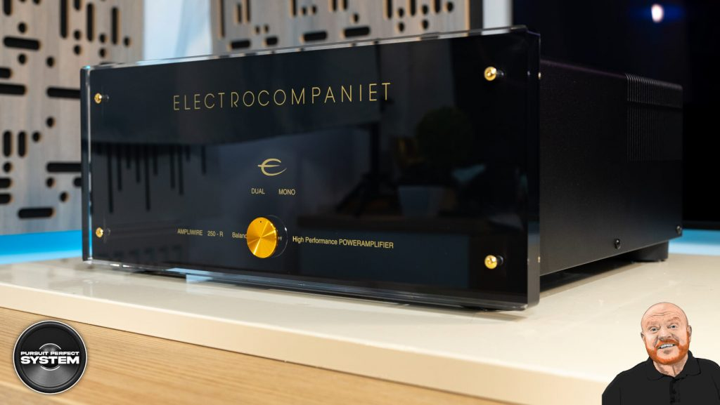 electrocompaniet aw250 r stereo power amplifier review website 1
