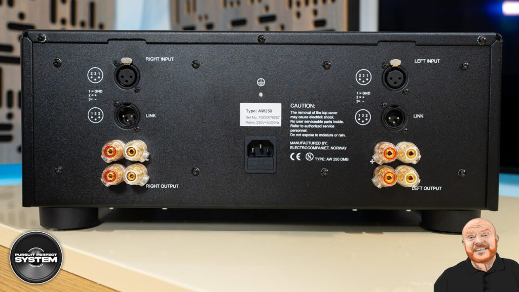 electrocompaniet aw250 r stereo power amplifier review website 3