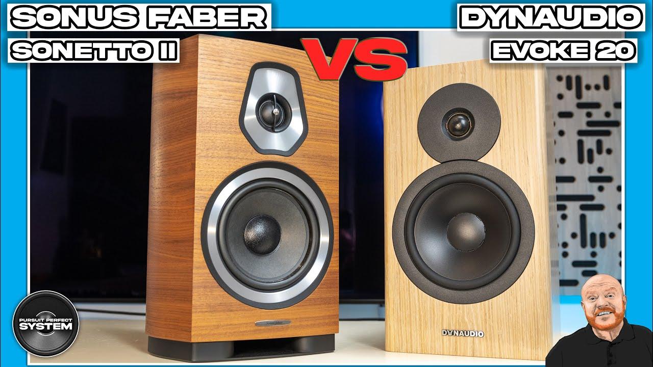dynaudio evoke 20 vs sonus faber sonetto ii video sound demo review website