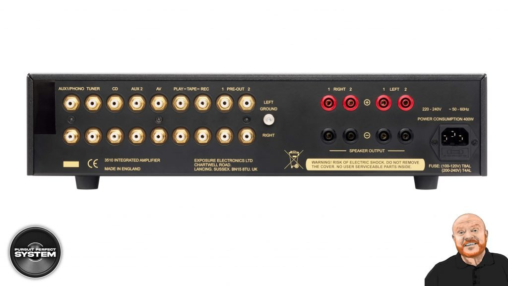exposure 3510 integrated hifi amplifier website 4
