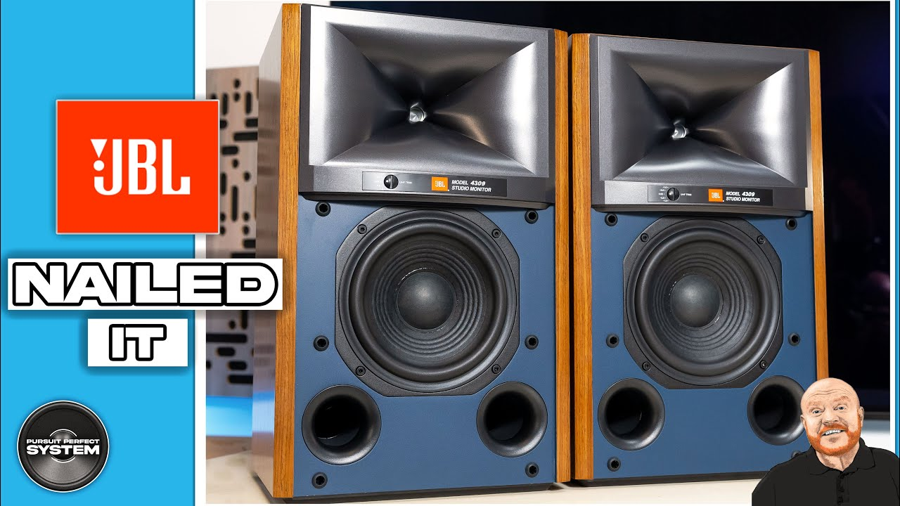 jbl 4309 studio monitor hifi speakers video review website 1
