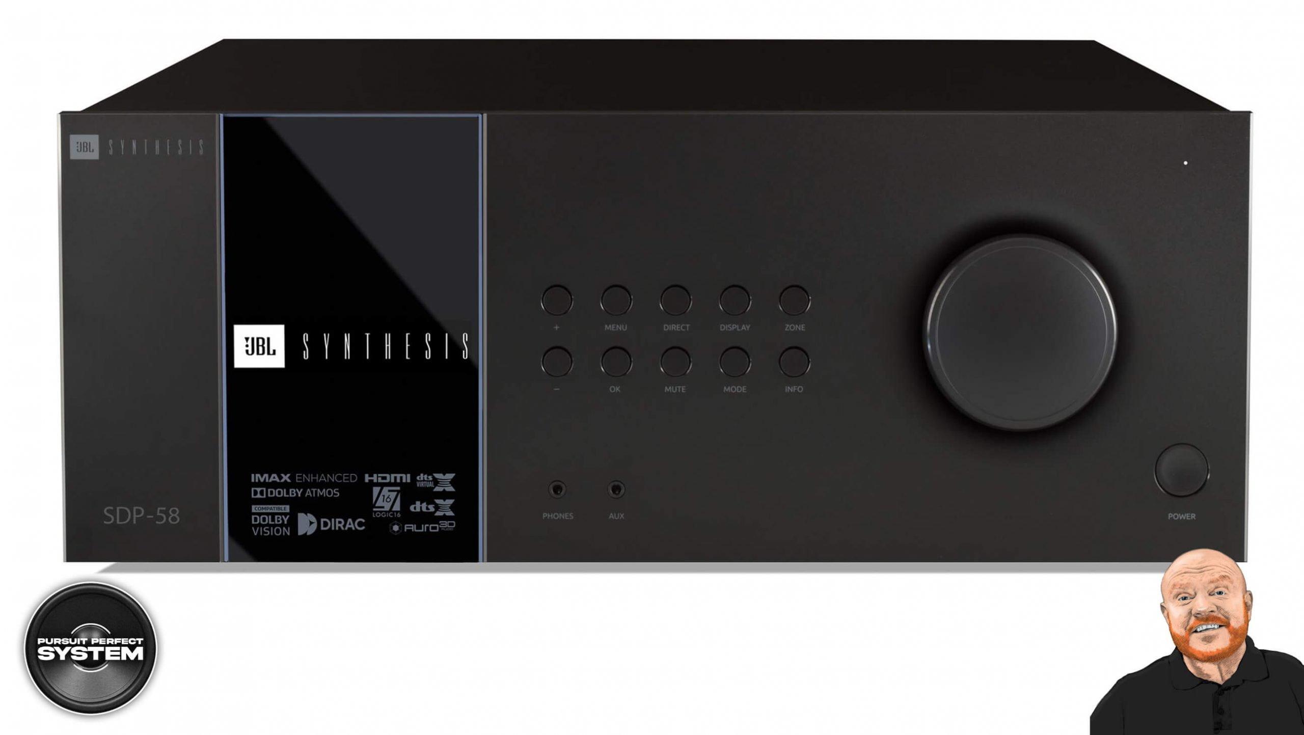 JBL SDP 58 AV processor receiver home theatre website 1