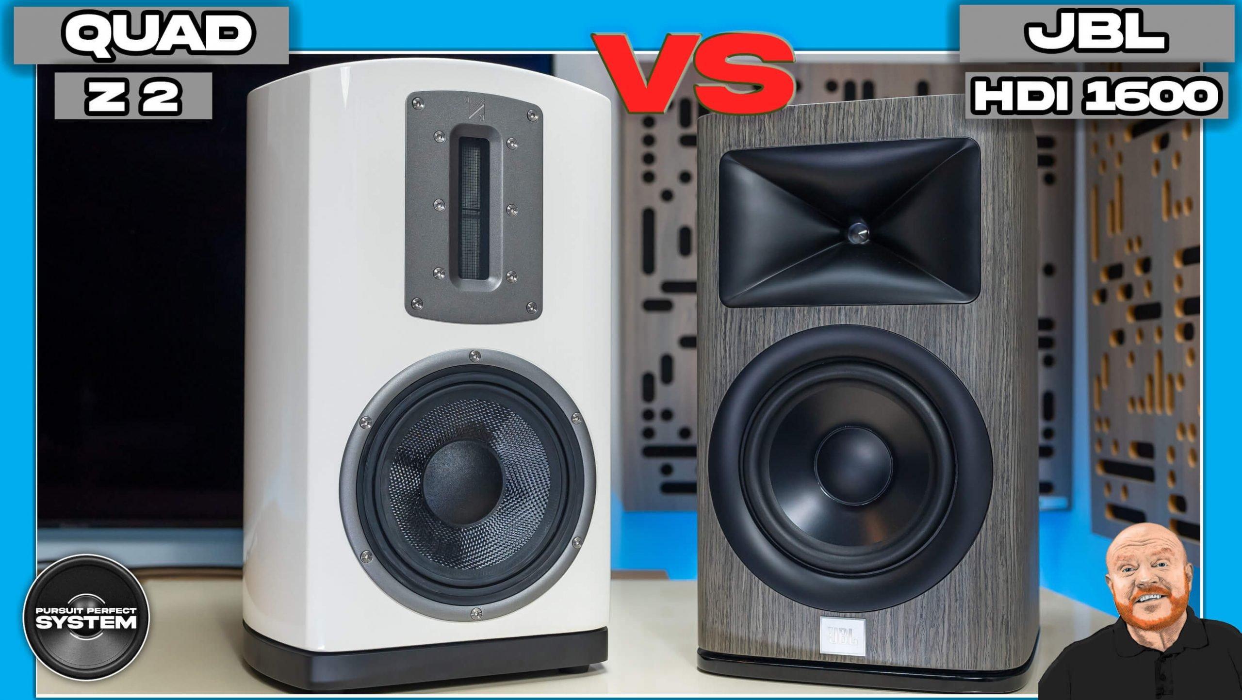 Quad Z2 vs JBL HDI1600