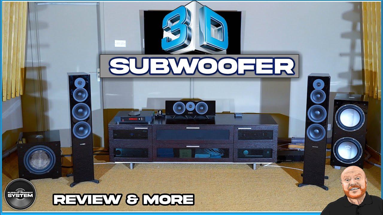 REL 3D subwoofer system review factory tour website