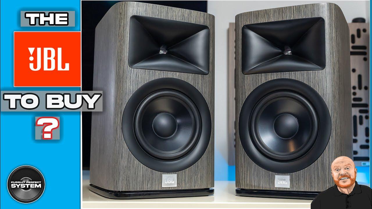 jbl hdi 1600 hifi speakers video review