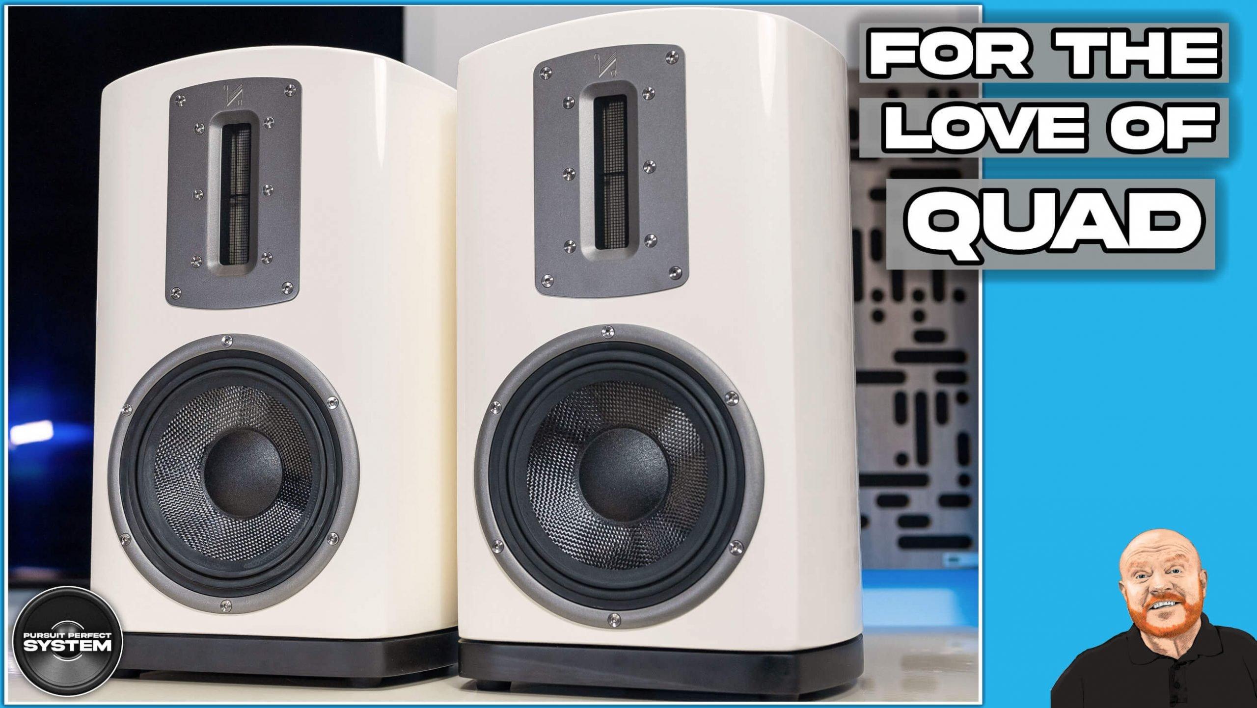 quad z2 hifi speakers video review website